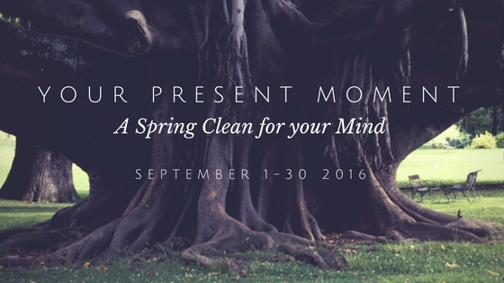 Your Present Moment - A Spring Clean for your Mind